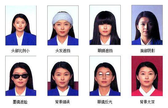 法国签证照片要求