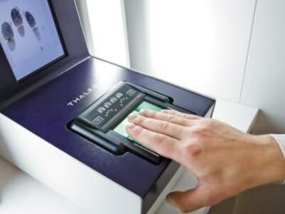 法国签证指纹录入